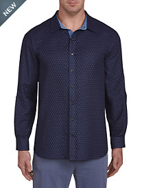 Synrgy Paisley Double-Face Sport Shirt