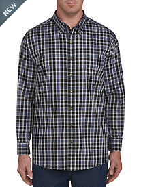Harbor Bay Easy-Care Plaid Sport Shirt