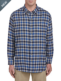Harbor Bay Gingham Flannel Shirt