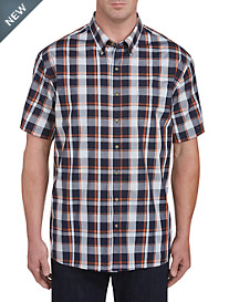 Harbor Bay Easy-Care Multi Plaid Sport Shirt