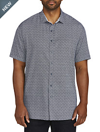 Twenty-Eight Degrees Contrast Trim Sport Shirt