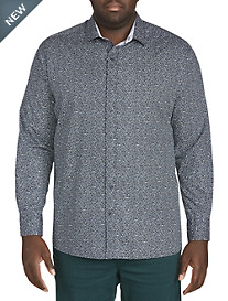 Twenty-Eight Degrees Pebbled Print Sport Shirt