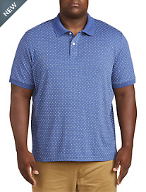 Harbor Bay Printed Polo Shirt