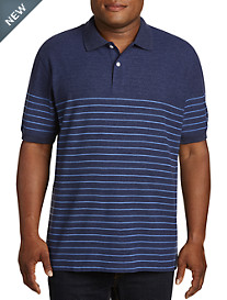 Harbor Bay Small Stripe Polo Shirt