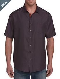 Synrgy Microfiber Dot Geo Sport Shirt