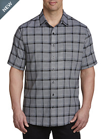 Synrgy™ Microfiber Medium Plaid Sport Shirt