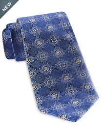 Rochester Designed in Italy Royal Medallion Silk Tie