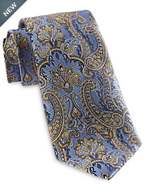 Rochester Designed in Italy Floral Paisley Silk Tie