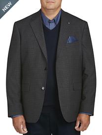 Oak Hill Small Check Sport Coat- Executive Cut