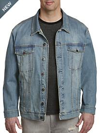 True Nation® Lightwash Vintage Denim Jacket