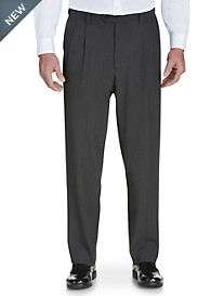 Gold Series Easy Stretch Pleated Dress Pants – Unhemmed