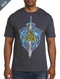 Legend of Zelda Iconic Weapon Graphic Tee