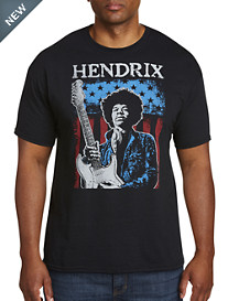 Jimi Hendrix American Player Graphic Tee