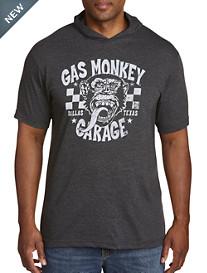 Gas Monkey Garage Short-Sleeve Hoodie Graphic Tee