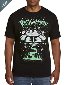 Rick & Morty Spaceship Graphic Tee