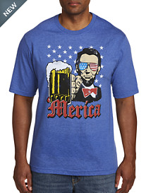 Abe Loves 'Merica Graphic Tee