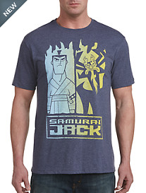 Samurai Jack Split Graphic Tee