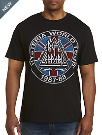 Def Leppard Rock Of Ages Graphic Tee