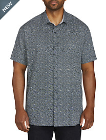 Twenty-Eight Degrees Pebble Print Sport Shirt