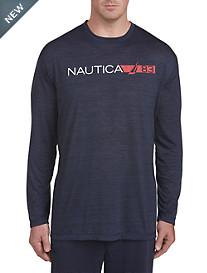 Nautica Long-Sleeve Logo Jersey Tee