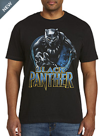 Marvel® Comics Black Panther Round Badge Graphic Tee