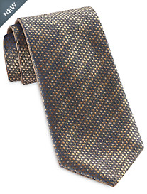 Synrgy Tonal Dot/Solid Reversible Tie