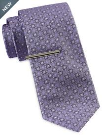 Gold Series Mini Geo Medallion Tie