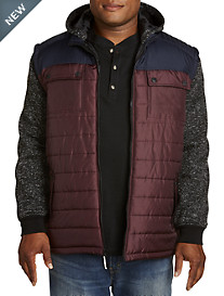 PX Clothing Quilted Vest Jacket
