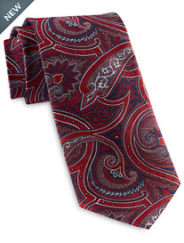 Rochester Designed in Italy Dazzling Paisley Silk Tie