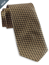 Rochester Designed in Italy Pinpoint Neat Silk Tie