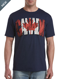 Red, White & Canada Graphic Tee