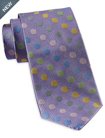Rochester Designed in Italy Rainbow Dot Tie