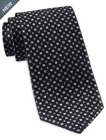 Rochester Designed in Italy Mini Medallion Neat Tie