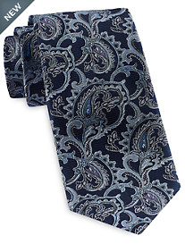 Rochester Designed in Italy Medallion Paisley Tie