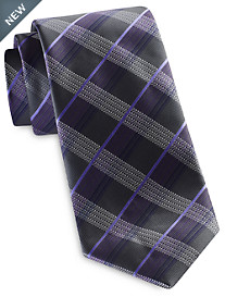 Synrgy InteliStretch Performance Contrast Plaid Tie