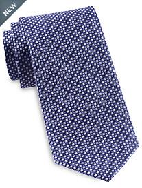 Rochester Designed in Italy Diamond Geo Neat Tie