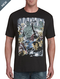 Marvel Comics Avengers Battle Graphic Tee