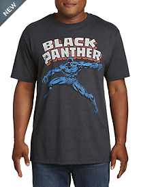 Retro Black Panther Graphic Tee