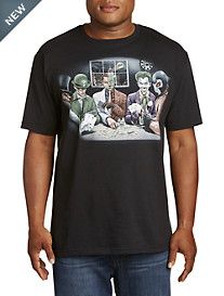 Batman's Villian Playing Poker Graphic Tee