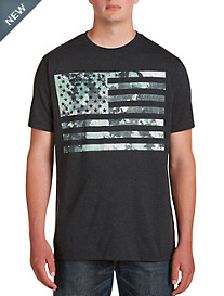 Camo Flag Graphic Tee
