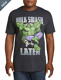 Hulk Smash Later Graphic Tee