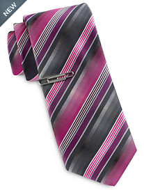 Gold Series Ombré Fast Track Stripe Tie