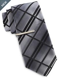 Gold Series Ombré Bold Plaid Tie
