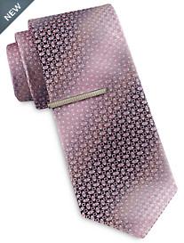 Gold Series Ombré Geometric Neat Tie