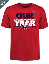 NHL Capitals Championship Graphic Tee