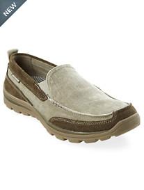 Skechers® Melvin Canvas Slip-On Boat Shoes