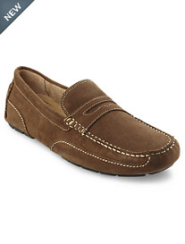 Rockport® Oaklawn Suede Penny Loafers