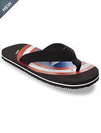 Marvel® Comics Captain America Flip Flops