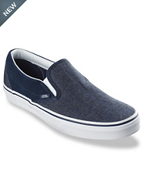 Vans® Classic Slip-On Suede & Suitin' Sneakers