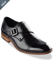 Stacy Adams® Desmond Cap-Toe Monk Strap Dress Shoes